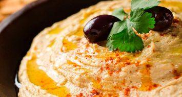 Receta para Hacer Hummus Natural