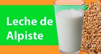 La leche de alpiste y sus propiedades