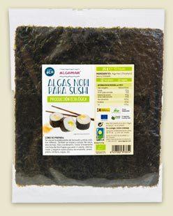 Algas ecológicas Algamar