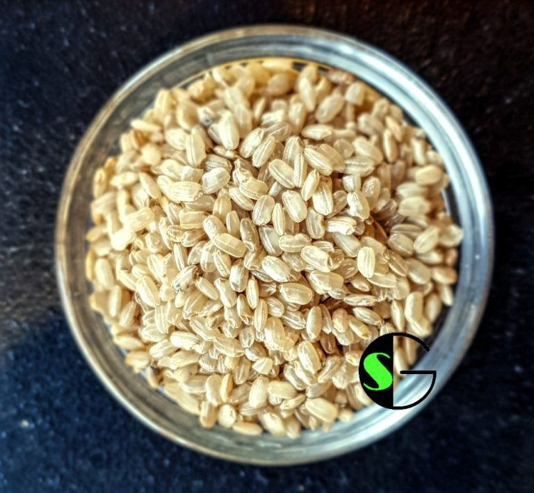 Arroz a granel redondo integral