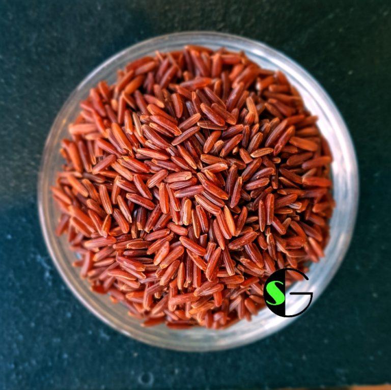 Arroz a granel rojo ecológico