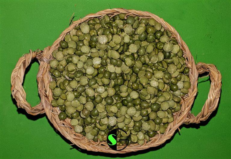 Guisante verde partido a granel