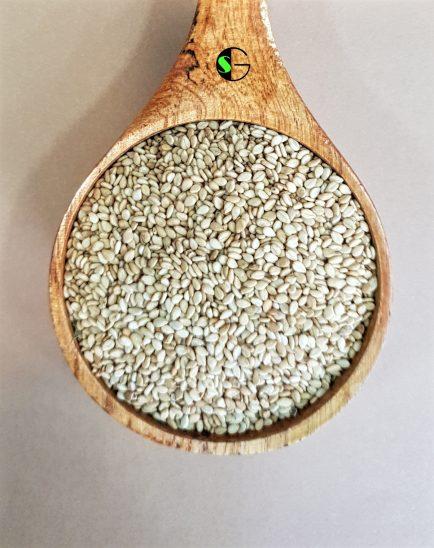 Semillas a granel sésamo tostado