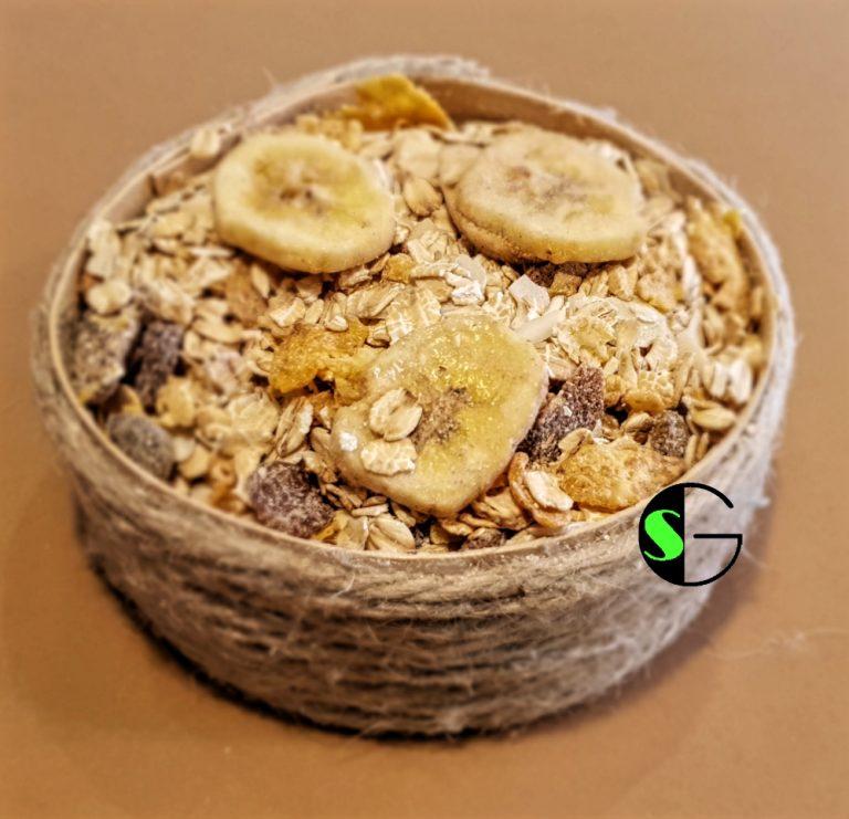 Muesli a granel trío cereales ecológico